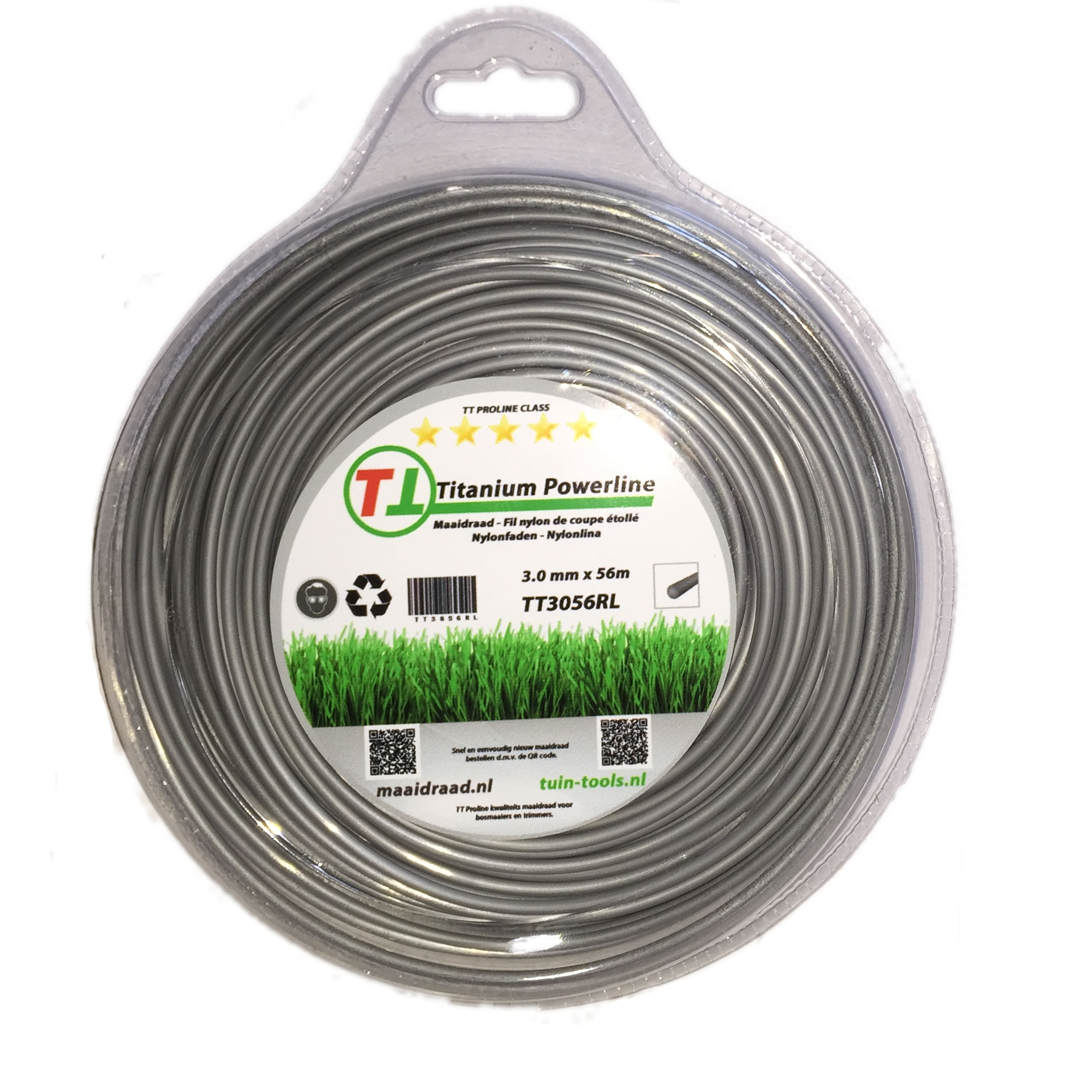 Maaidraad  - Titanium Power line 3.0mm x 56m TT3056RL